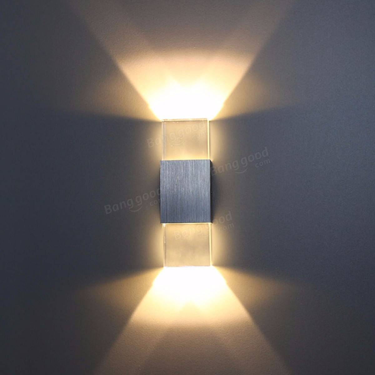 Bedroom modern wall lights - 2w Modern Led Wall Light Up Down Indoor Sconce Bedroom Lamp Fixture Warm White