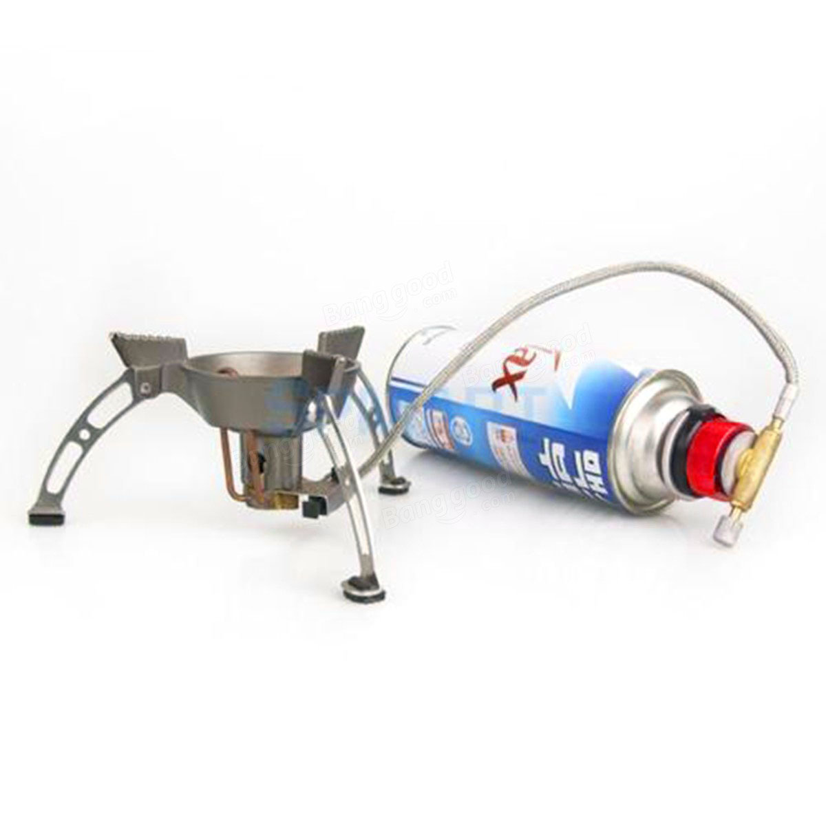 Camping Hiking Stove Converter Long-Typed Gas Bottle Adapter ...