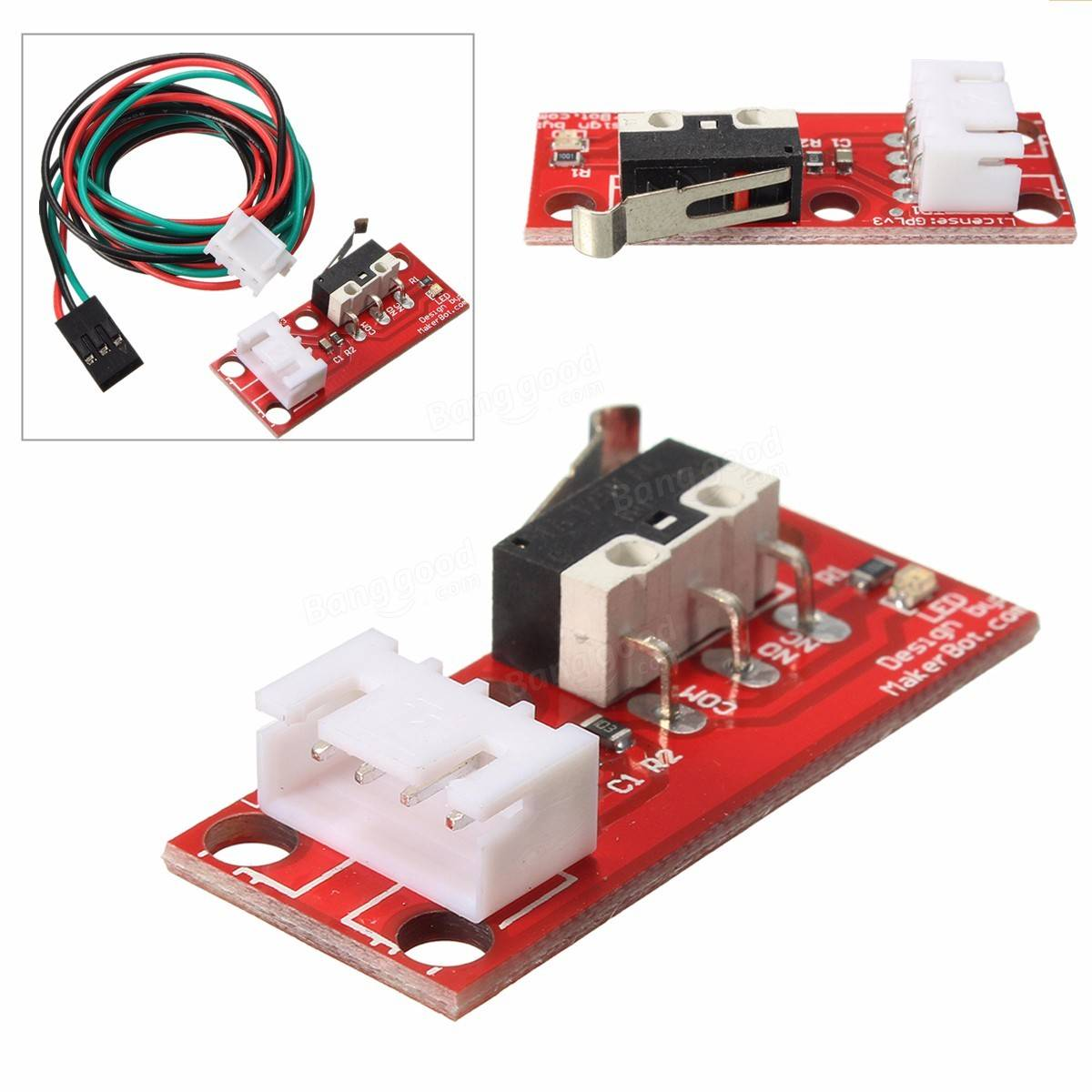 mechanical end stop endstop limit switch with cable for. Black Bedroom Furniture Sets. Home Design Ideas