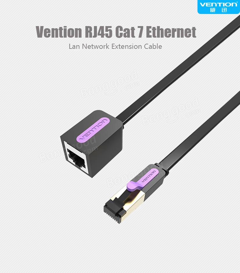 vention 0 5 10m ethernet cable rj45 cat 7 extender cable. Black Bedroom Furniture Sets. Home Design Ideas