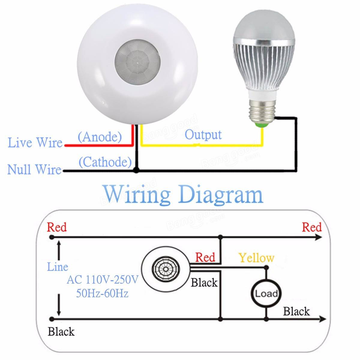 cf6b921a c035 4cc9 babe c893b38d7481 360� infrared human body induction switch pir motion sensor wiring diagram motion sensor at aneh.co