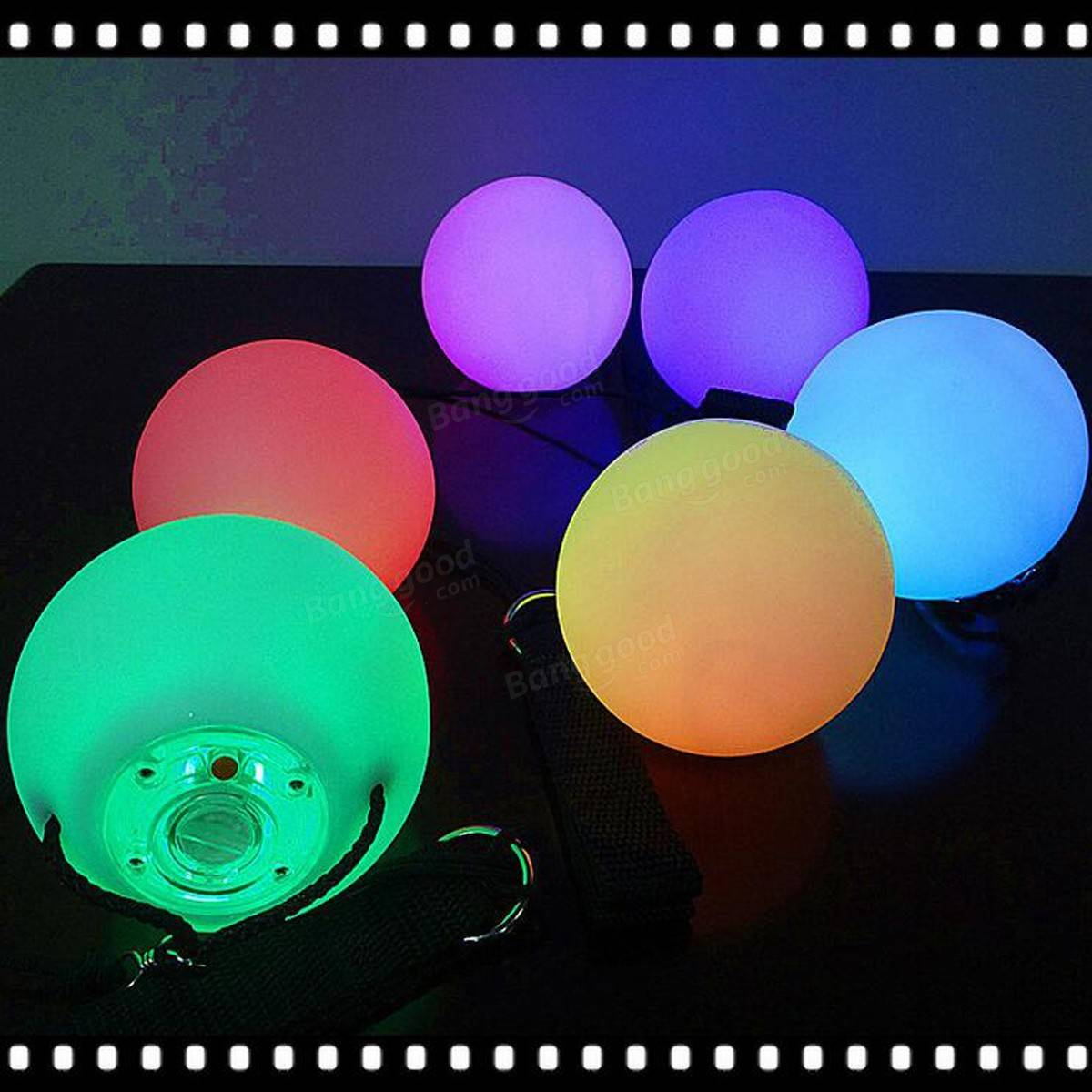 5PCS Pro LED Multicolored Glow POI Thrown Balls Light Up For Belly Dance Hand Props  sc 1 st  Banggood & 5PCS Pro LED Multicolored Glow POI Thrown Balls Light Up For Belly ... azcodes.com