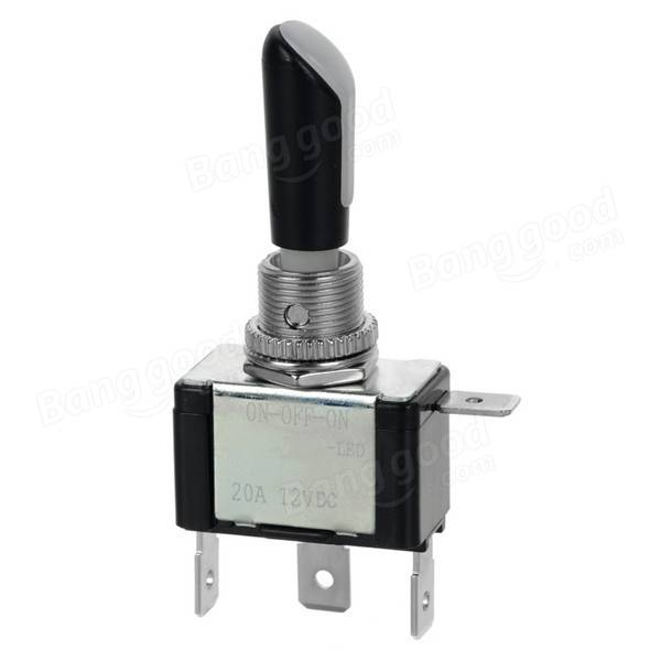 Pin Low Voltage Disconnect Switch Electronically Senses Battery On