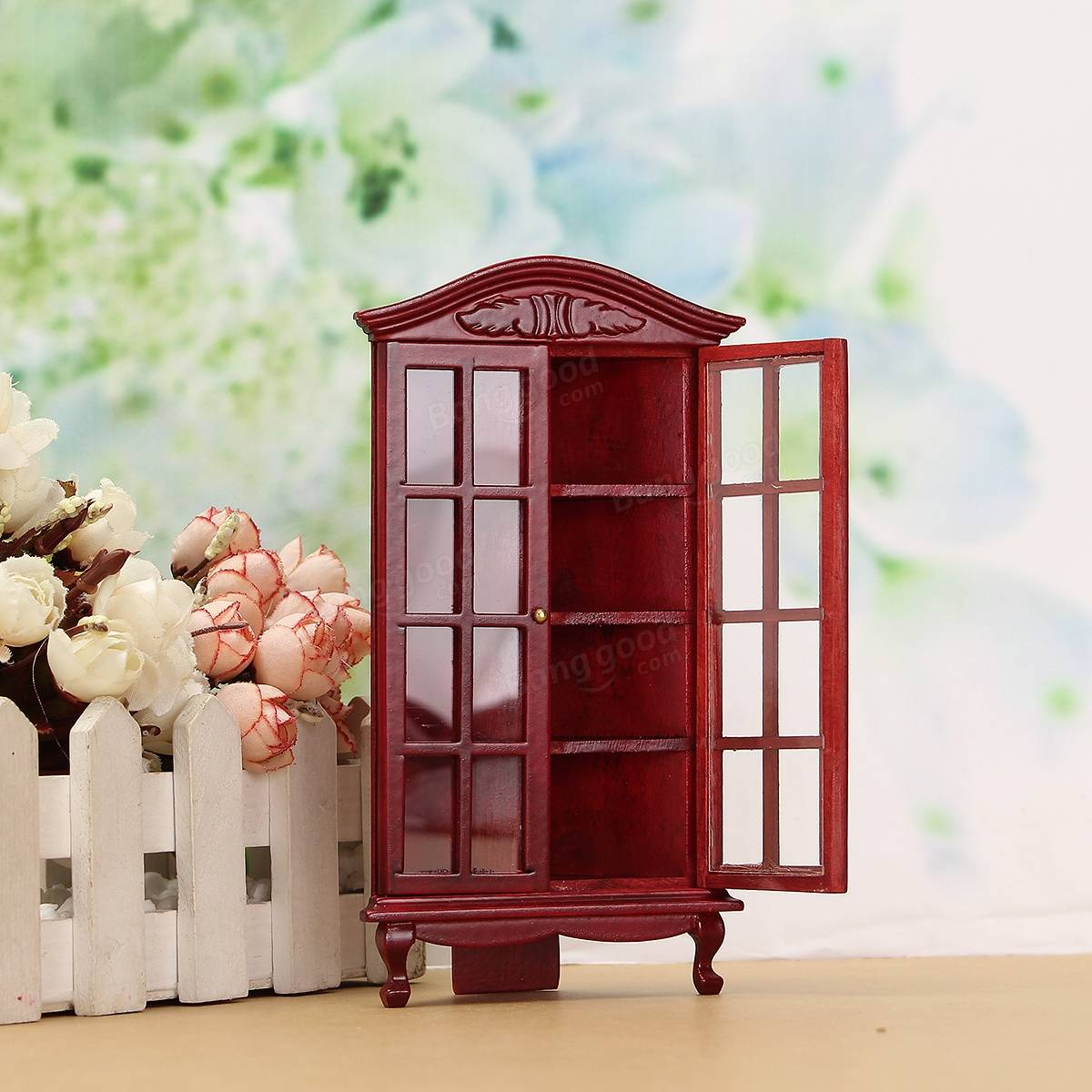 112 Dollhouse Miniature Furniture Modern White Red