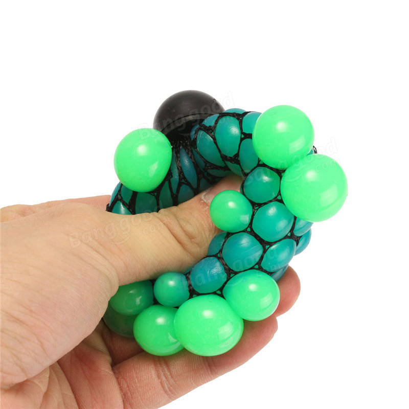 Squishy Ball In Mesh : Squishy Colored Mesh Stress Reliever Ball Squeeze Stressball Party Bag Fun Gift Sale - Banggood.com