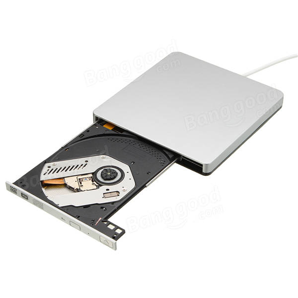 Usb Ranura Externa En Dvd Cd Drive Burner Superdrive Para