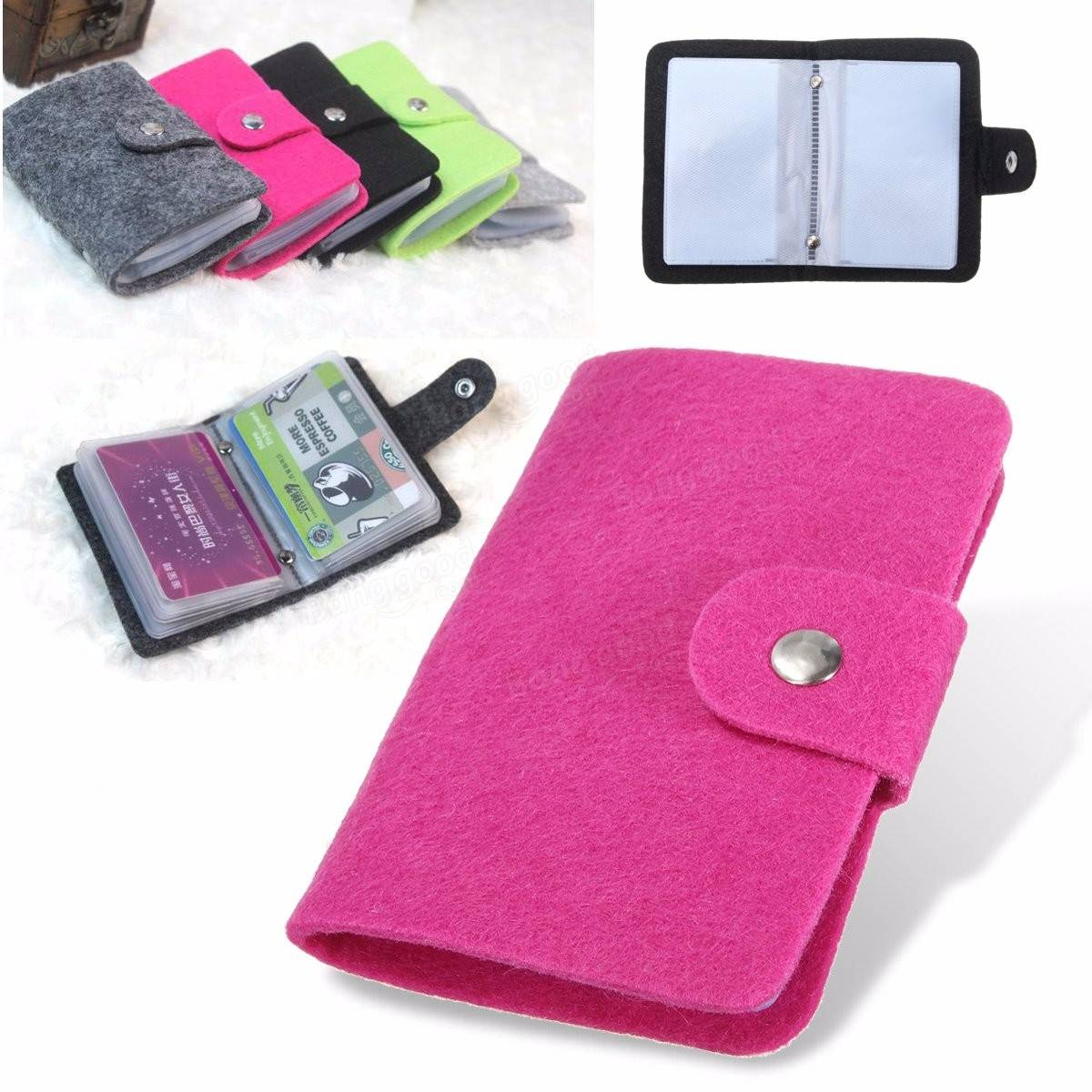 Motorcycle gloves with id pocket - Vintage Women Men Pouch Id Credit Card Wallet Cash Holder Organizer Box Pocket Cover Case