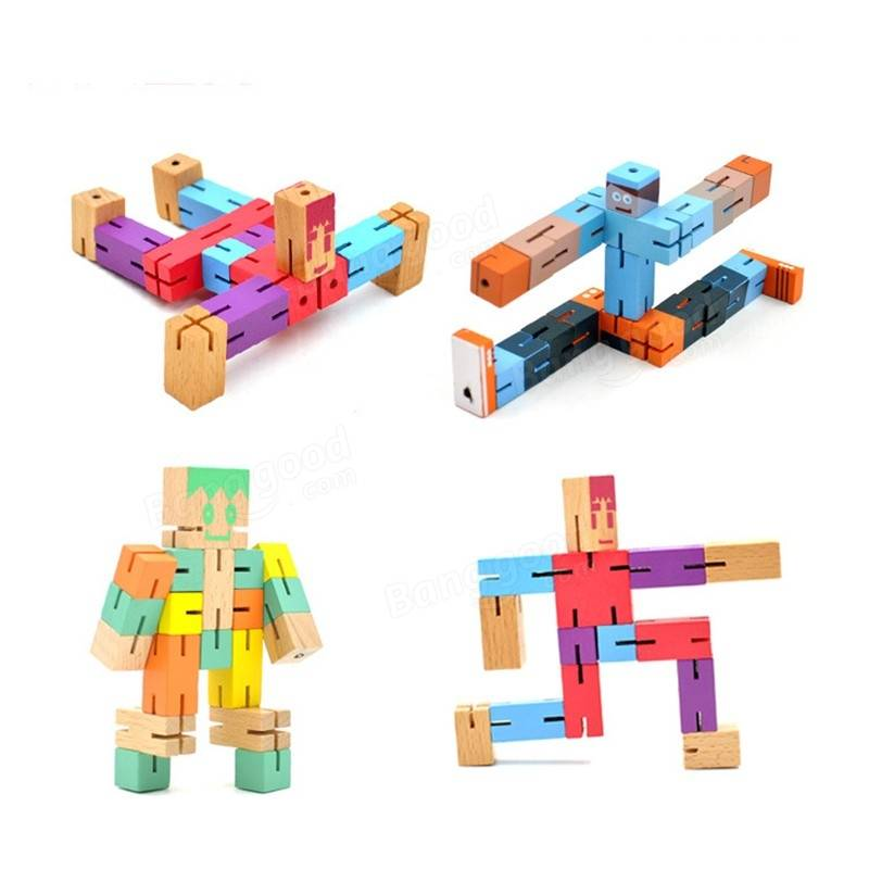 Wooden Cube Toys 35