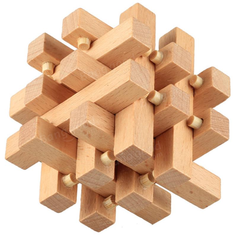 Enjoy Learning Us Map Puzzle%0A Kong Ming Lock Toys Assembling  D Puzzle Cube Children Kids Challenge IQ  Brain Wood Toy