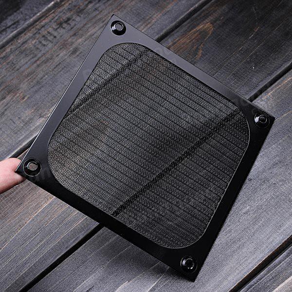 120mm Aluminum Dustproof Cover Dust Filter For Pc Fan Us