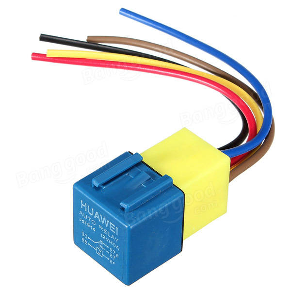 automotive relay wiring harness and socket volt a a automotive relay wiring harness and socket 12volt 30a 40a