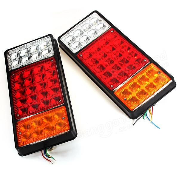12V Truck Tail Light LED Electronic Rear Light Truck Rail