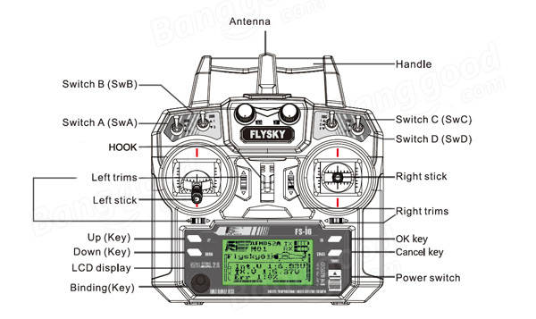 SKU096119.3 flysky fs i6 2 4g 6ch afhds rc transmitter with fs ia6 receiver fs ia6b wiring diagram at soozxer.org