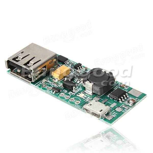 3 7v Li Ion Battery Mini Usb To Usb A Power Supply Module