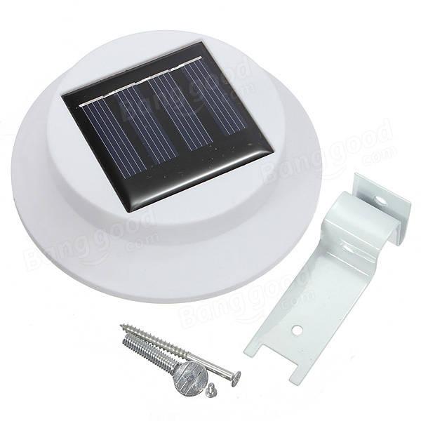 Waterproof Solar LED Light Outdoor Garden Yard Gutter Pathway Lamp