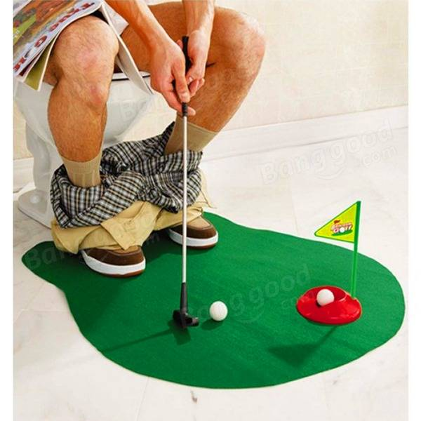 potty putter toilet golf game mini golf toys us. Black Bedroom Furniture Sets. Home Design Ideas