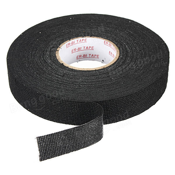 SKU148454 3 wiring loom harness adhesive cloth fabric tape cable looms 19mm wire loom harness tape at soozxer.org