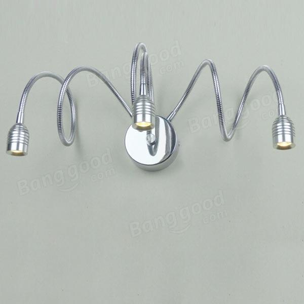 Bathroom Mirror Lamp led flexible gooseneck wall light living room bathroom mirror lamp