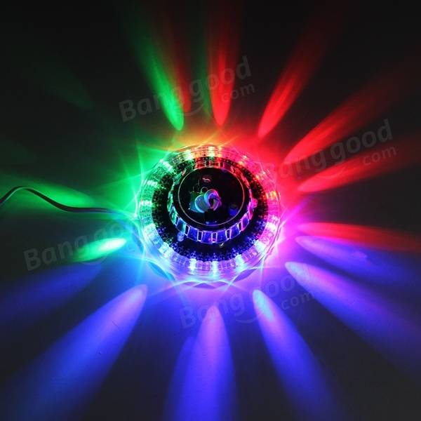 Sunflower LED Sound Activated RGB Stage Light Disco Bar DJ Party : sound activated lighting - azcodes.com