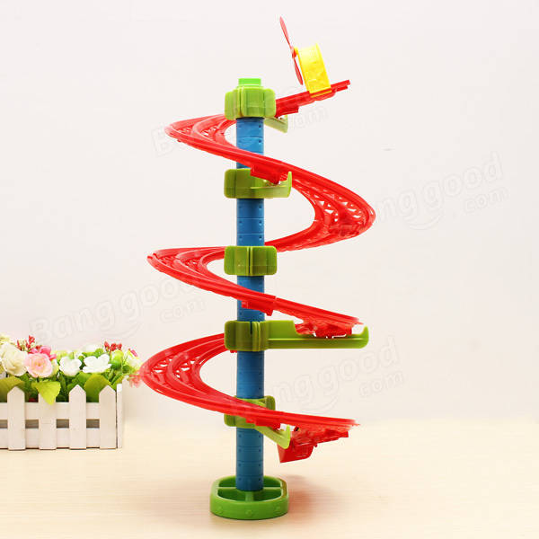 Jumping Beans Spirality Shape Rail DIY Building Blocks Education Toy