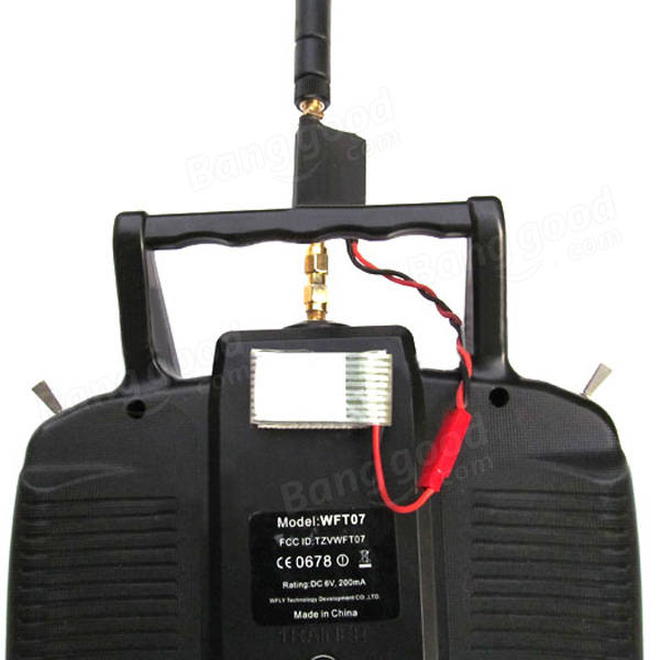 2.4G 2W Radio Signal Booster & Antenna & Feeder For DJI Phantom Multirotor TX Extend Range