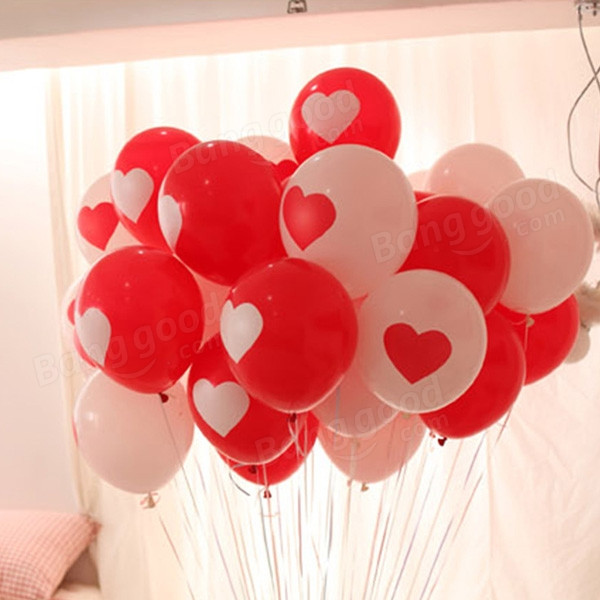 100pcs proposal valentine wedding balloons heart love balloon, Ideas