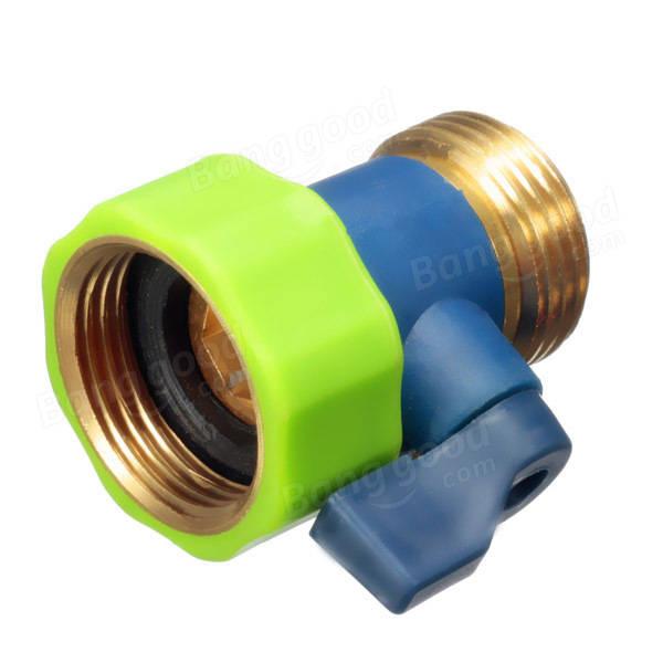 3 4 di pollice rubinetto tubo dell 39 acqua in ottone rapido for Riduzione del rumore del tubo dell acqua