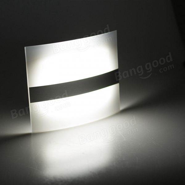 Delightful Wireless Motion Sensor LED Wall Light Battery Operated Indoor Stair Hallway  Closet Bedside Lamp